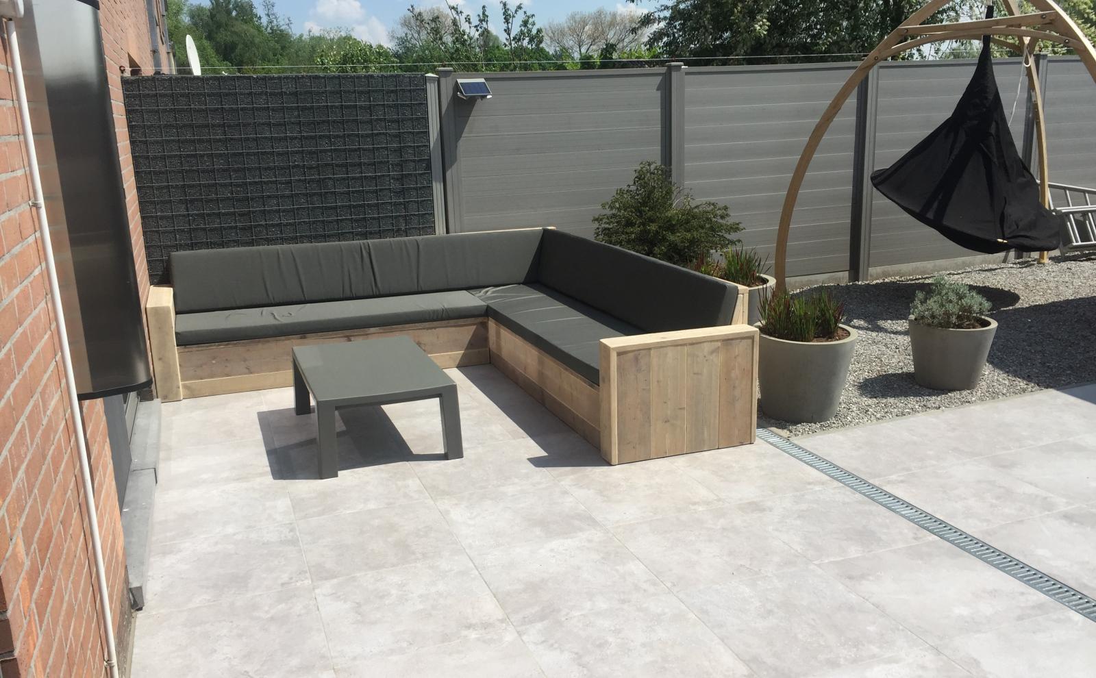 Go industrial stoere tuinstijl met een nordic twist of terras voor
